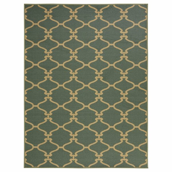 Clifton Teal Area Rug by sweet home stores