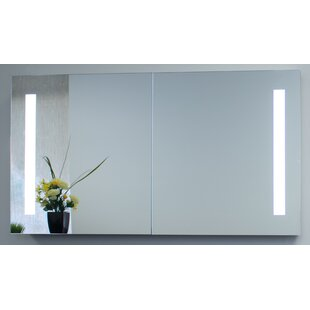 Find the perfect Cedar Grove 40 x 26 Mirror Cabinet with LED Lighting ByWade Logan