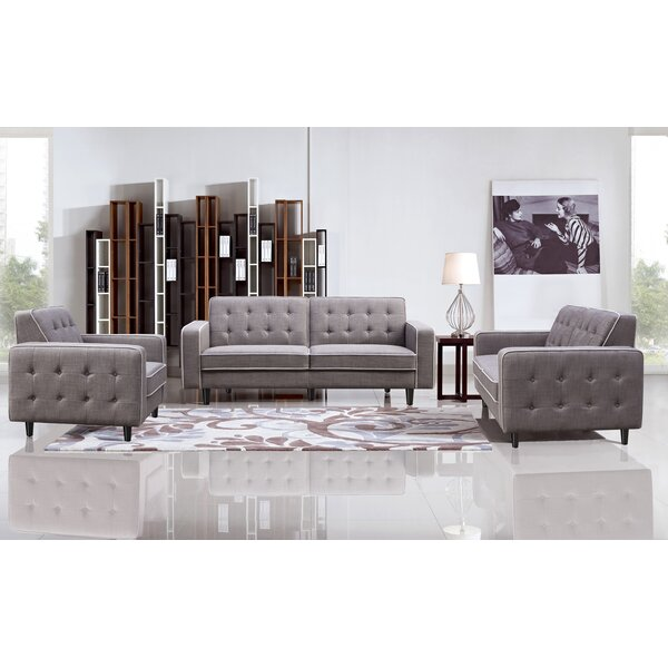 #1 Benjamin 3 Piece Living Room Set By DG Casa Purchase