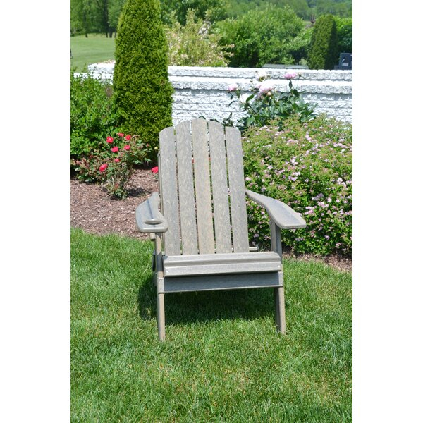 Country Classic Plastic Folding Adirondack Chair by Rosecliff Heights Rosecliff Heights