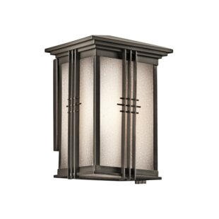 Shop For Halliburton 1-Light Outdoor Wall Lantern By Red Barrel Studio