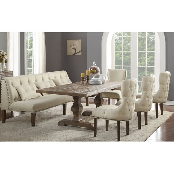 Locksley 6 Piece Dining Set by Canora Grey