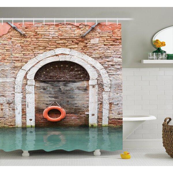 Italian Historical Venice Decor Shower Curtain by East Urban Home