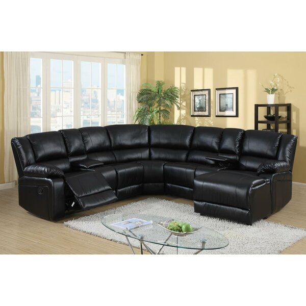 Cadence Symmetrical Symmetrical Reclining Sectional By Wildon Home®
