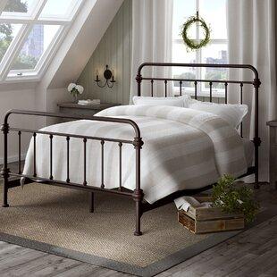 106baec7da8a Metal Beds You'll Love in 2019 | Wayfair