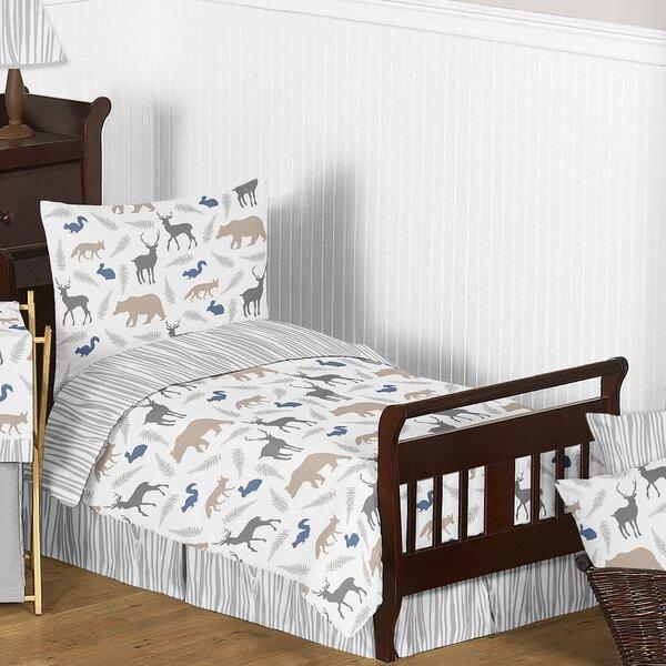 Woodland Animals 5 Piece Toddler Bedding Set by Sweet Jojo Designs