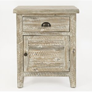 Leonora 1 Drawer Nightstand by Highlan..