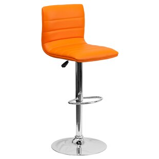 Strange Alexandrea Adjustable Height Swivel Bar Stool Gmtry Best Dining Table And Chair Ideas Images Gmtryco
