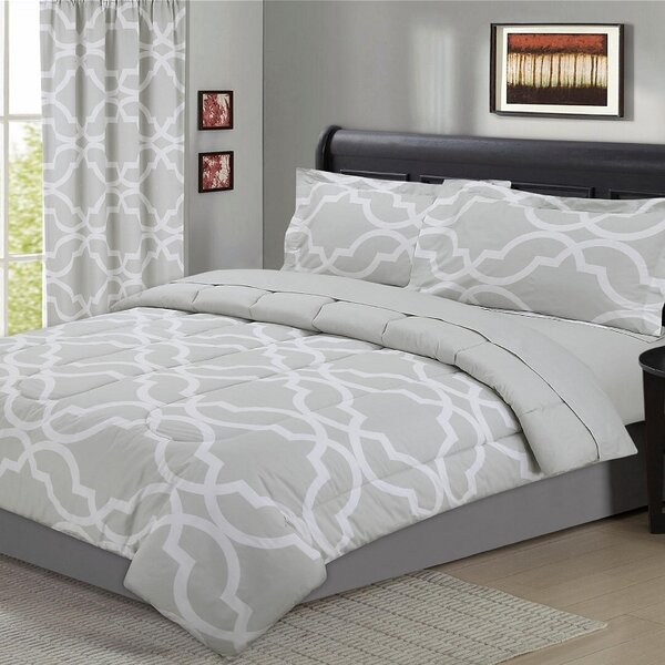 Fontaine Geometric 5 Piece Comforter Set by Darby Home Co