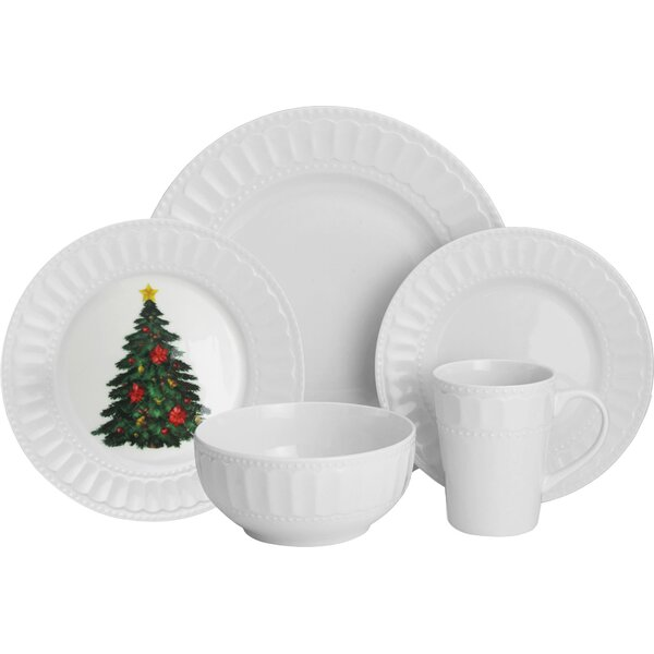 Radiant 20 Piece Dinnerware Set, Service for 4 by Design Guild