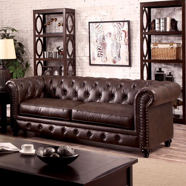 Branchville Chesterfield Sofa by Three Posts