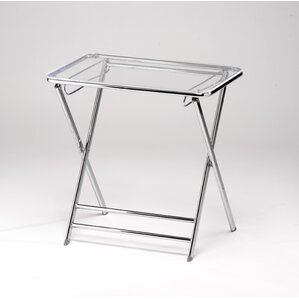 Lucite Folding End Table by Alston