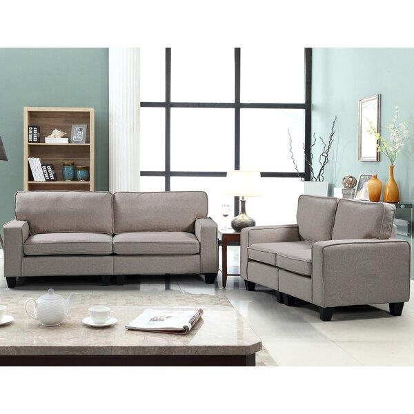 Pigott 2 Piece Living Room Set by Williston Forge