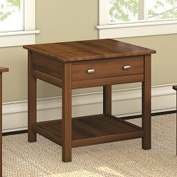 Carabus End Table With Drawer by Caravel