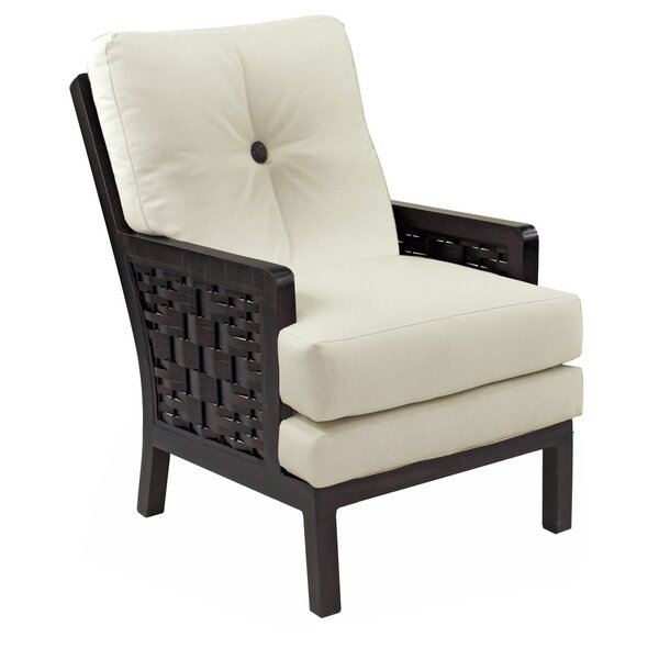 Spanish Bay Patio Dining Chair with Cushion by Leona