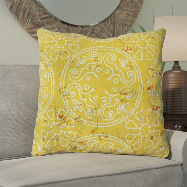Theo Printed Throw Pillow by World Menagerie