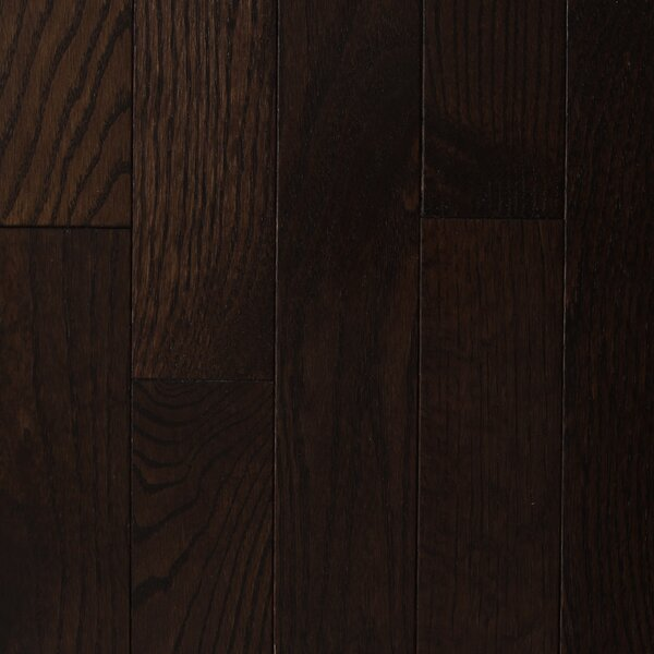Lake Inari 2-1/4 Solid Oak Hardwood Flooring in Dark Chocolate by Branton Flooring Collection