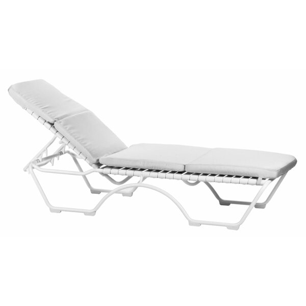 Kahana Indoor/Outdoor Chaise Lounge Cushion by Tropitone