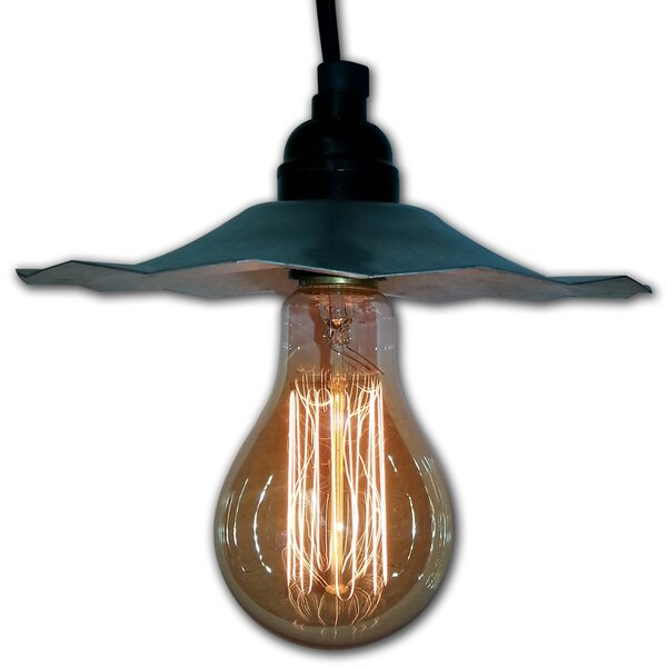 1-Light Cone Pendant by String Light Company