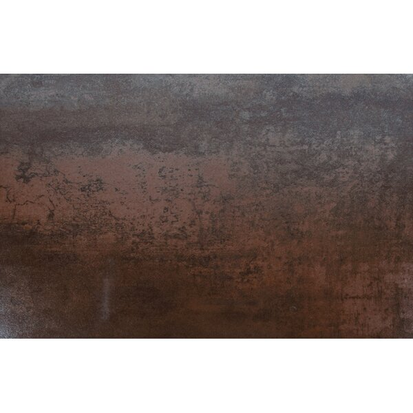 Antares Jupiter Iron 16 x 24 Porcelain Metal Look Tile in Gold by MSI