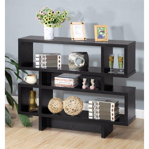 Deven Creative Utility Geometric Bookcase By Wrought Studio