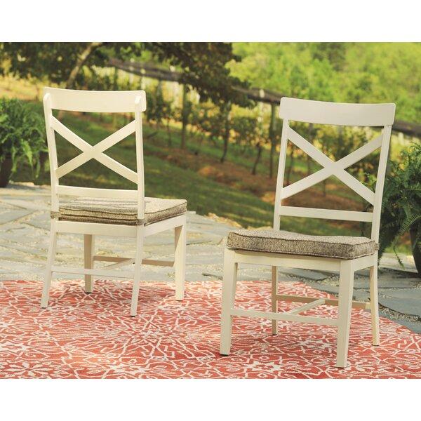 Farzana Patio Dining Chair With Cushion (Set Of 2) By Gracie Oaks