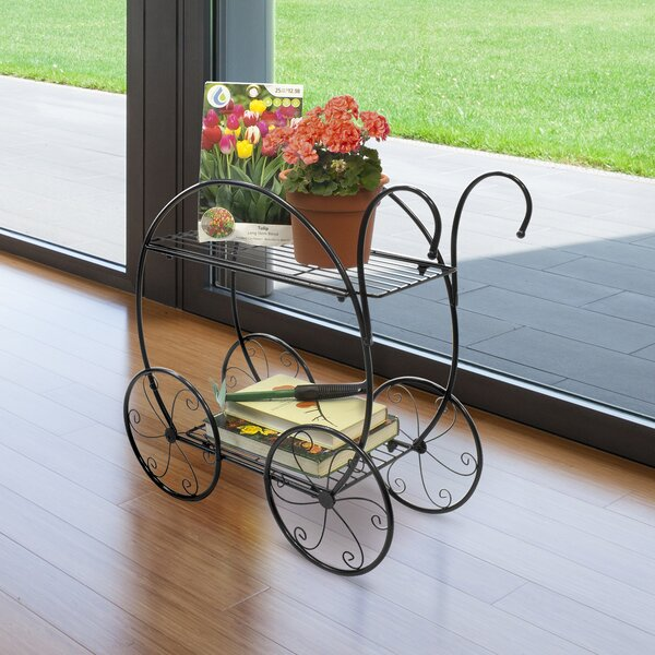 2 Tier Circular Frame Bicycle Plant Stand by Sorbus