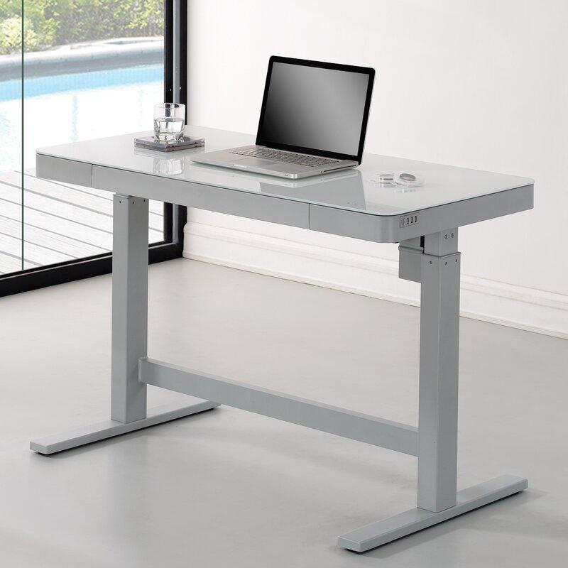 Wildon Home Adjule Standing Desk Reviews Wayfair