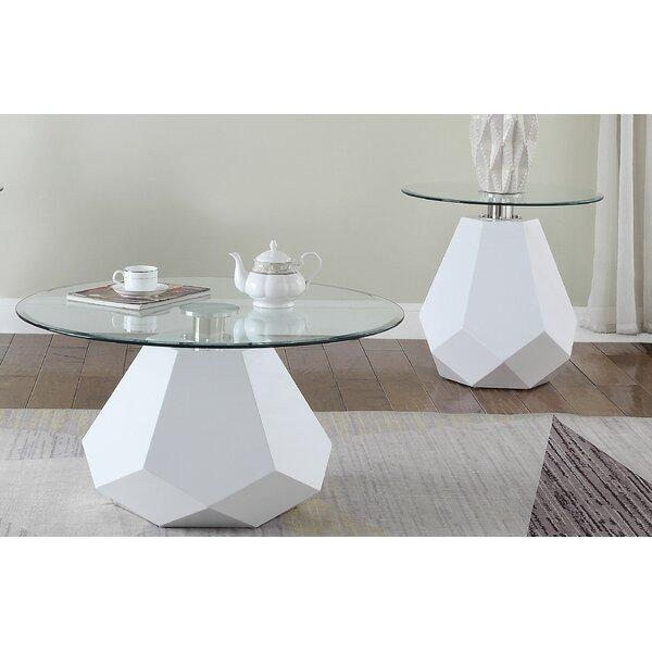 Friedlaender 2 Piece Coffee Table Set by Orren Ellis Orren Ellis