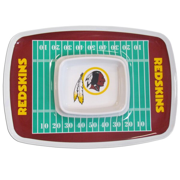 NFL Chip and Dip Tray by Siskiyou Gifts