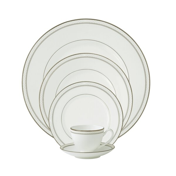 Padova Bone China 5 Piece Place Setting, Service for 1 by Waterford