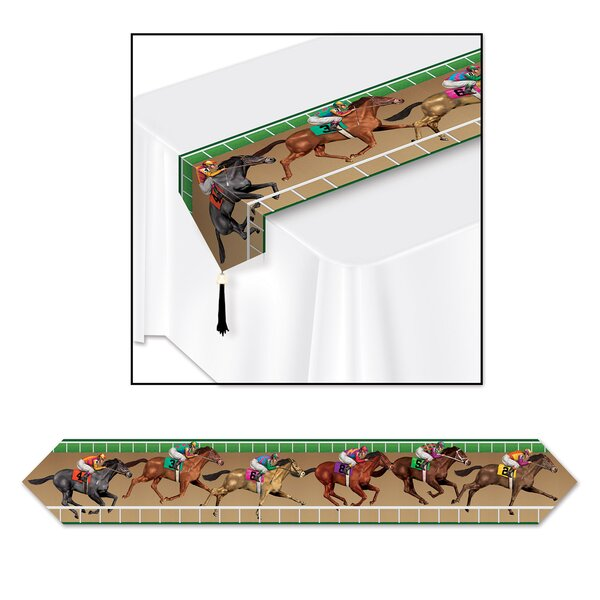 Flaugher Horse Racing Table Runner (Set of 3) by The Holiday Aisle