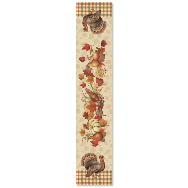 Bountiful Harvest Table Runner by The Holiday Aisle