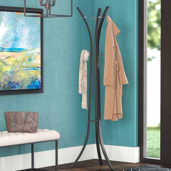 Salacia Hat and Coat Rack Stand by Mercury Row