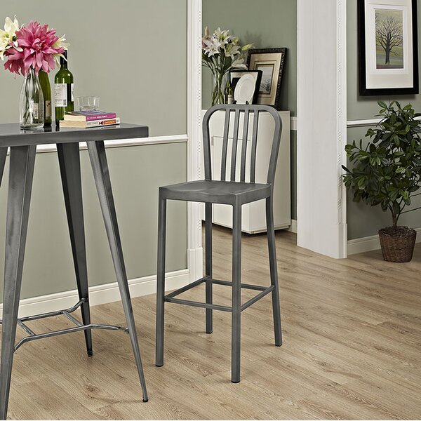 Chime 30 Bar Stool by Modway