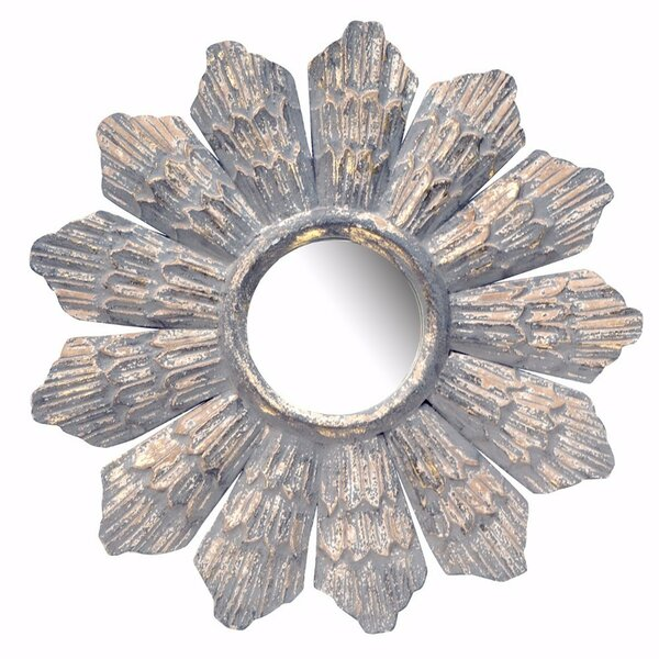 Claudelle Radiate Accent Mirror by Bloomsbury Market