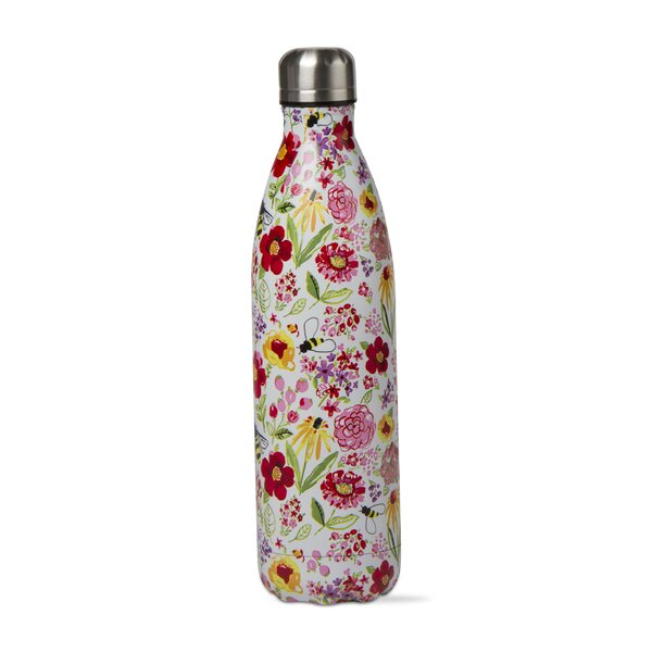 Fresh Flowers 16 oz. Stainless Steel Bottle by TAG
