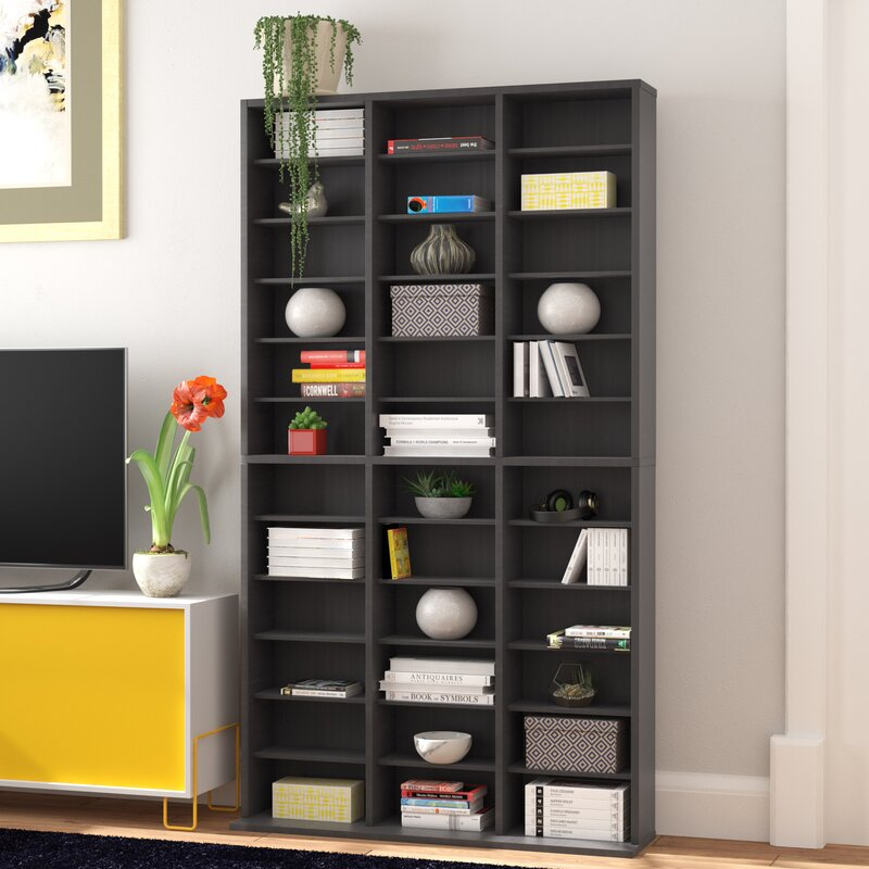 Charmant Multimedia Storage Rack