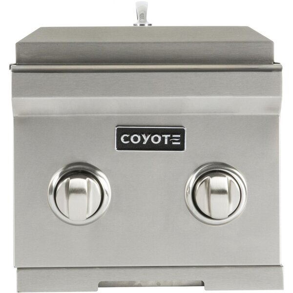 Natural Gas Double Side Burner by Coyote Grills