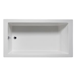 60 x 30 freestanding tub. Wright 66  x 32 Drop in Soaking Bathtub Extra Deep Wayfair