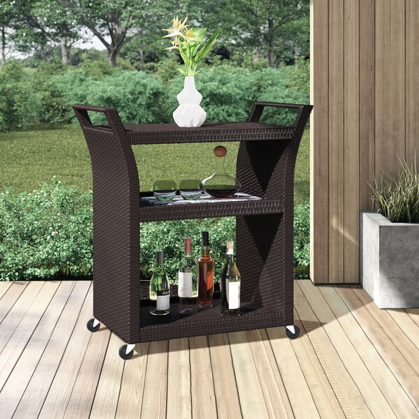 Belton Bar Serving Cart by Mercury Row