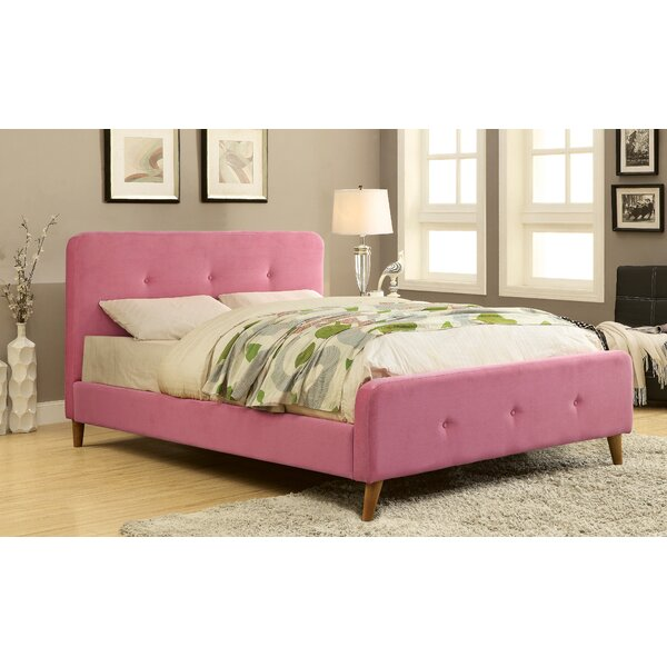 Clooney Upholstered Platform Bed by House of Hampton