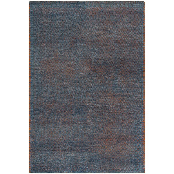 Merriam Hand Tufted Wool Blue Area Rug by Bloomsbury Market