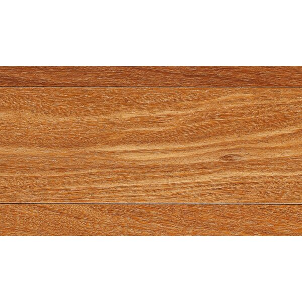 3-1/4 Engineered Teak Hardwood Flooring in Red by IndusParquet
