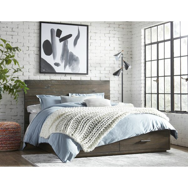 McKinney Solid Wood Storage Platform Bed By Union Rustic