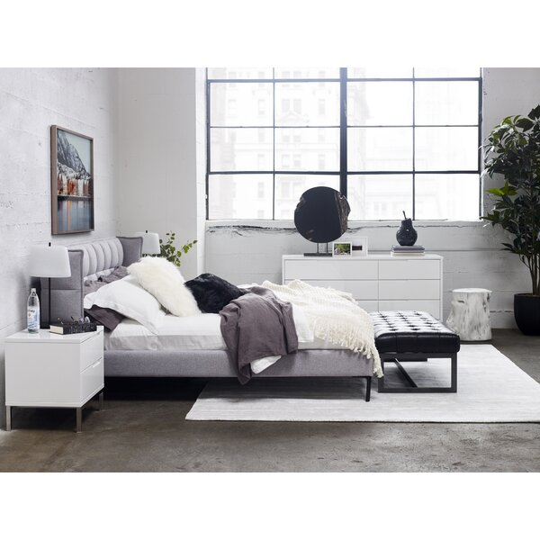 Kenley Upholstered Platform Bed by Rosdorf Park