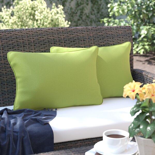 Thorson Modern Outdoor Lumbar Pillow by Andover Mills| @ $22.99