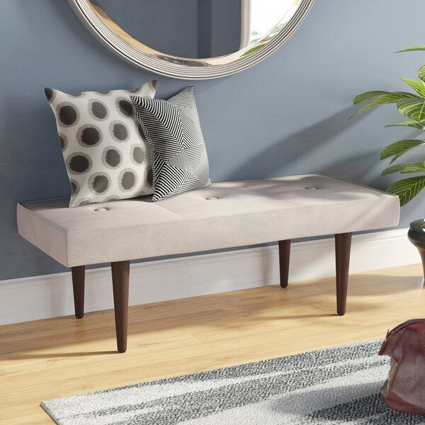Itzhak Velvet Bench by Langley Street
