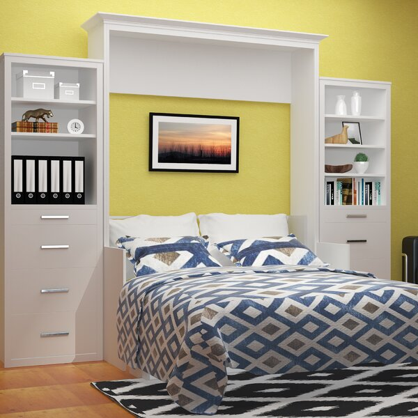 Tova Portrait Wall Queen Murphy Bed by Red Barrel Studio