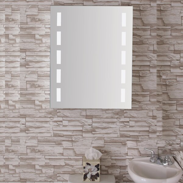 Conant 24 x 30 Recessed or Surface Mount Medicine Cabinet with 3 Adjustable Shelves and LED Lighting